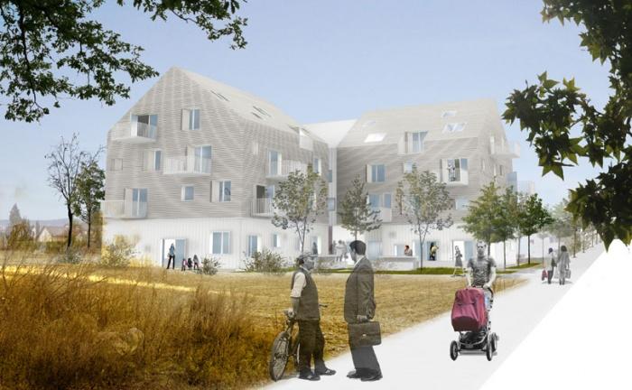 Centre intérgénerationnel (logements et equipements)
