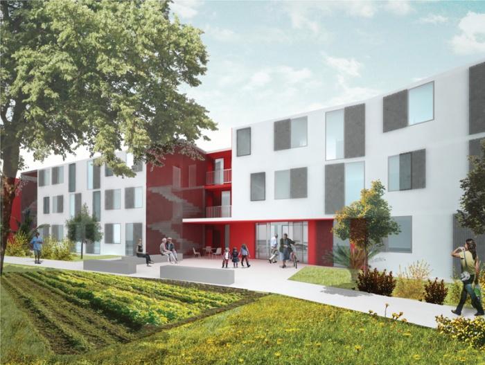 Residence intérgénérationnelle  (28 logements BBC pour seniors & jeunes couples)