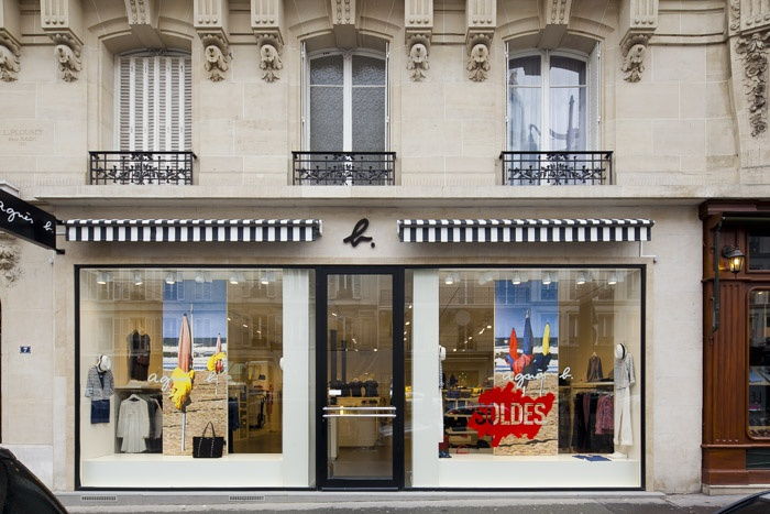 Boutique Agnès B., rue de Passy, : photo-sergio-grazia-TEXIER-SOULAS-boutique-paris-16_ECR700-002