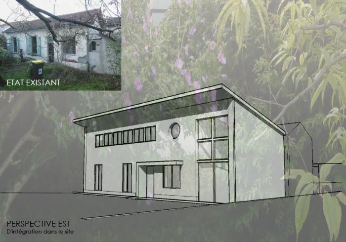 Surélevation d'une maison à usage d'habitation
