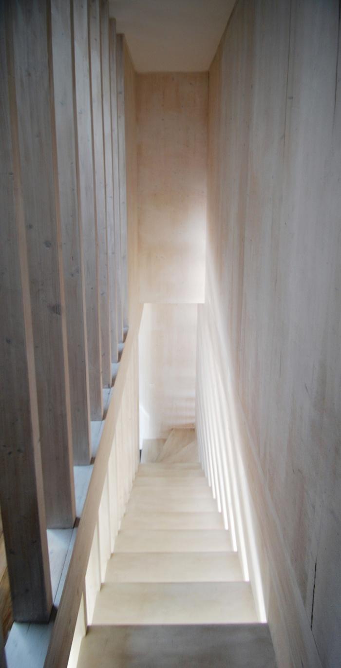Maison individuelle BBC - ossature bois préfabriquée : EPINAY_ESCALIER.jpg