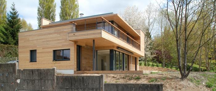 Architectes maison bbc lisieux for Prix une maison a construire