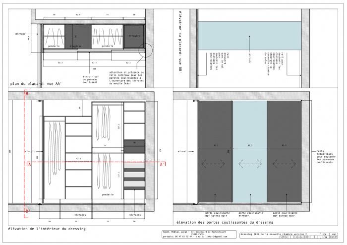 placard chambre ikea architectes paris appartement neuilly sur seine - Placard Chambre Ikea