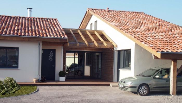 Maison neuve- littorale français