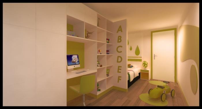 Projet d'aménagement d'un appartement Rue de Crimee : CH G (3)