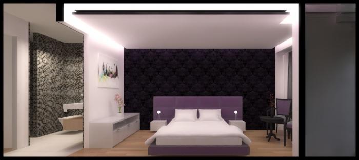 Projet d'aménagement d'un appartement Rue de Crimee : M2
