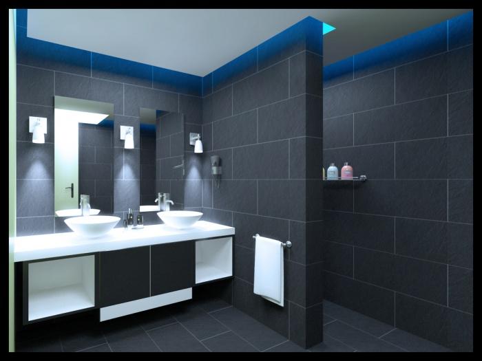 Projet d'aménagement d'un appartement Rue de Crimee : Vue03b