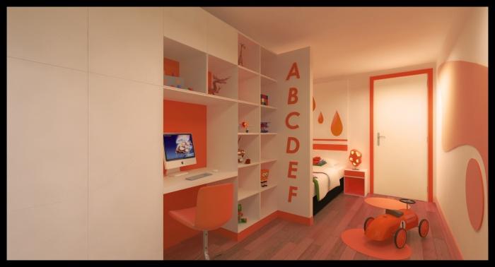 Projet d'aménagement d'un appartement Rue de Crimee : CH G (4)