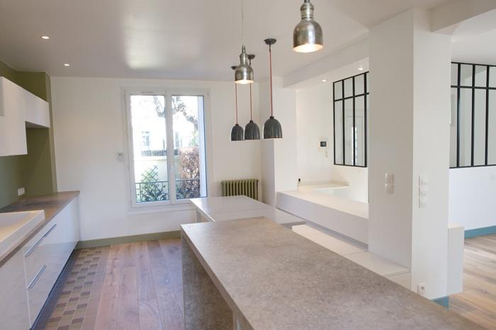 architectes pavillon des ann es 50 saint maur des foss s. Black Bedroom Furniture Sets. Home Design Ideas