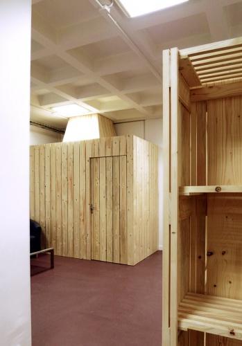 Architectes reamenagement de bureaux f d ration parcs naturels - Etagere cabine telephonique ...