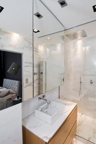 Appartement rue de bretagne : Salle de bain