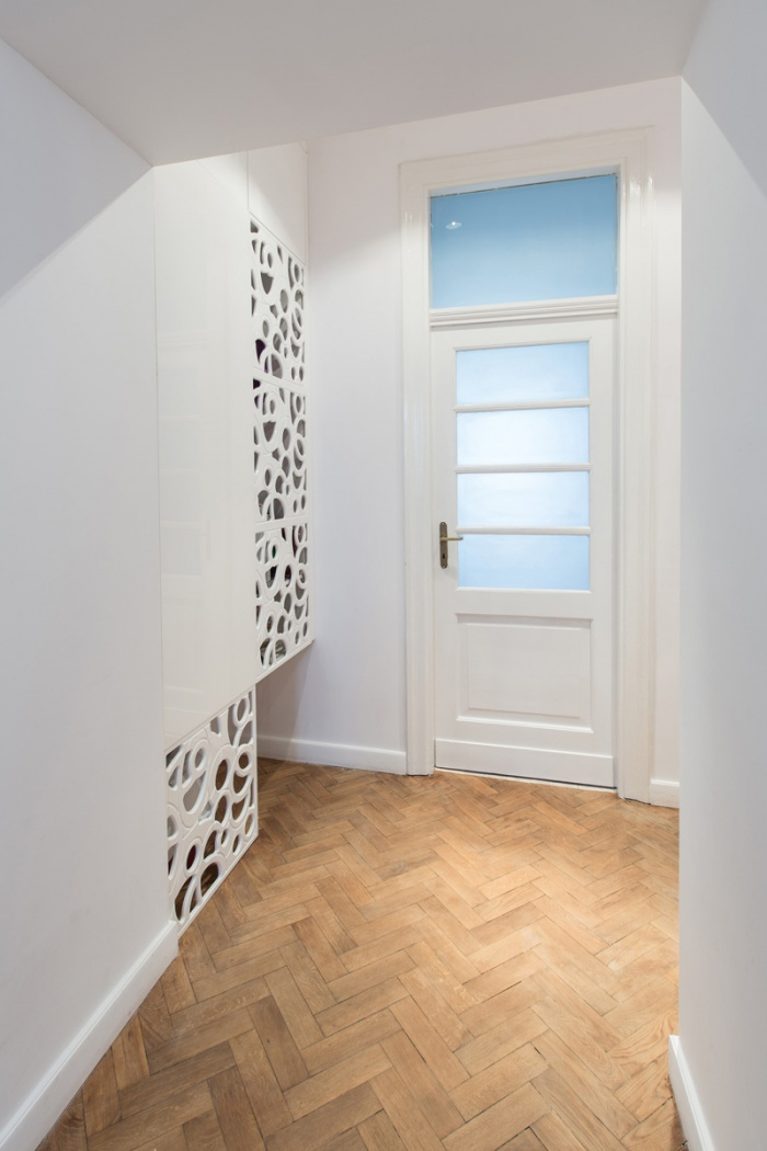 Appartement à Varsovie : Circulation