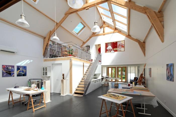 Une maison d'artistes