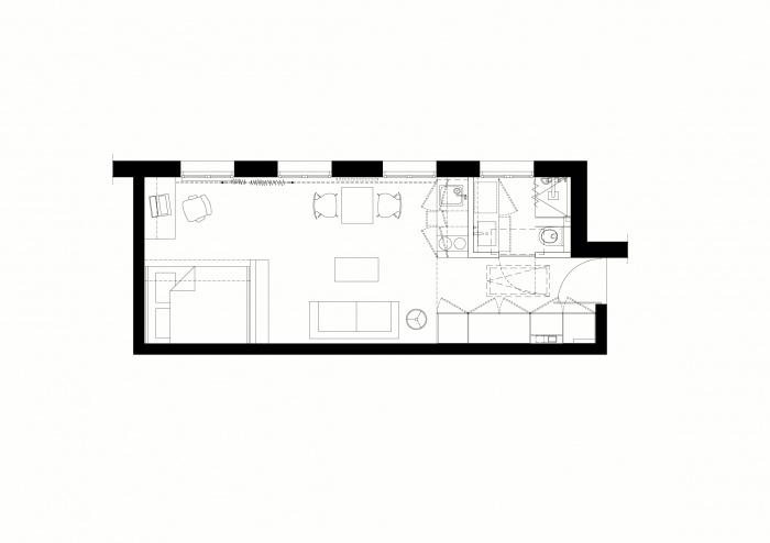 STUDIO - Place de la Bastille : 02 - PLAN PROJET