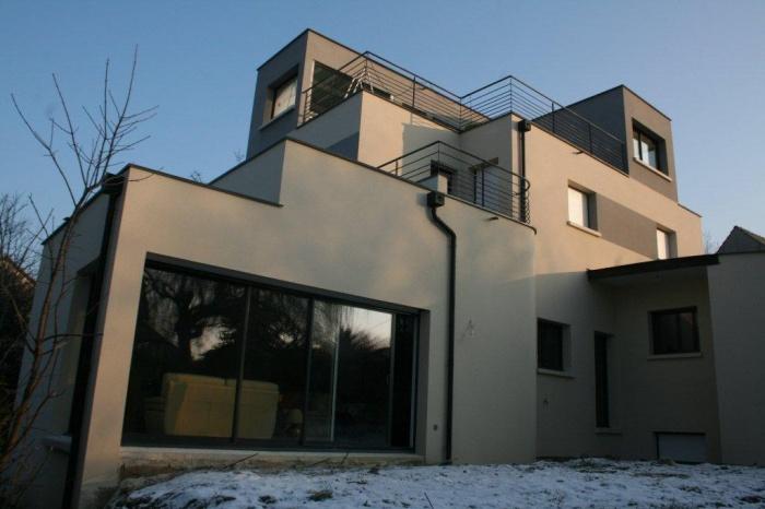 Maison écologique en monomur
