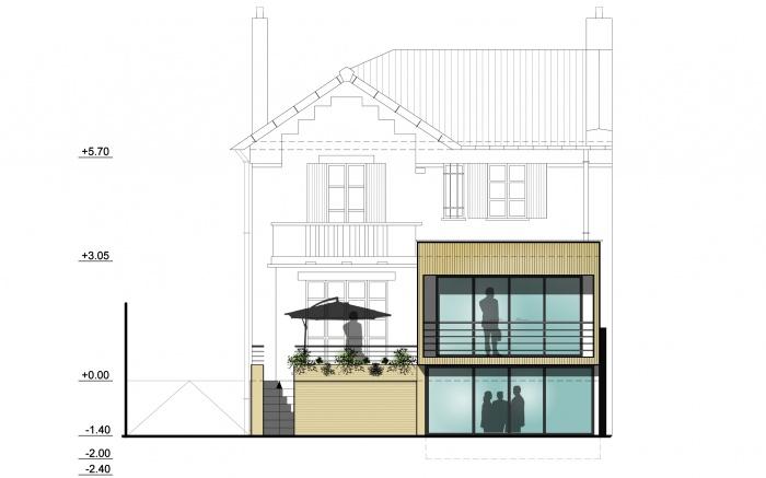 architecte alexis merle boulogne billancourt r alisations et contact. Black Bedroom Furniture Sets. Home Design Ideas