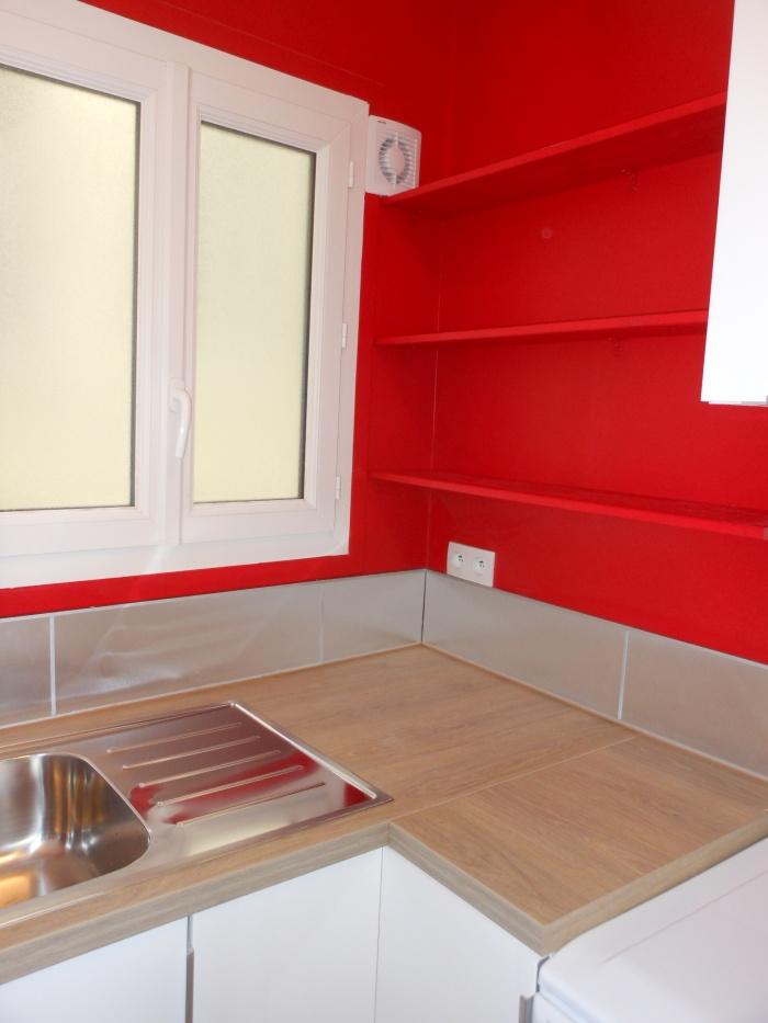 inversion cuisine salle da bain paris une r alisation de eco a. Black Bedroom Furniture Sets. Home Design Ideas