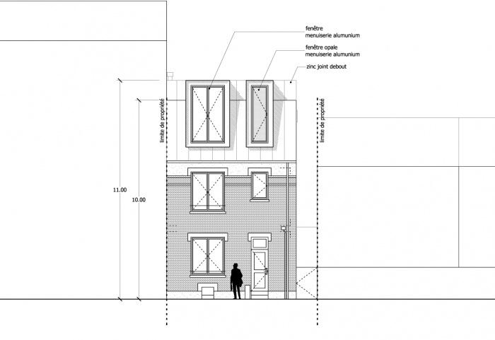 Poussé - Surélévation d'une maison : image_projet_mini_69849