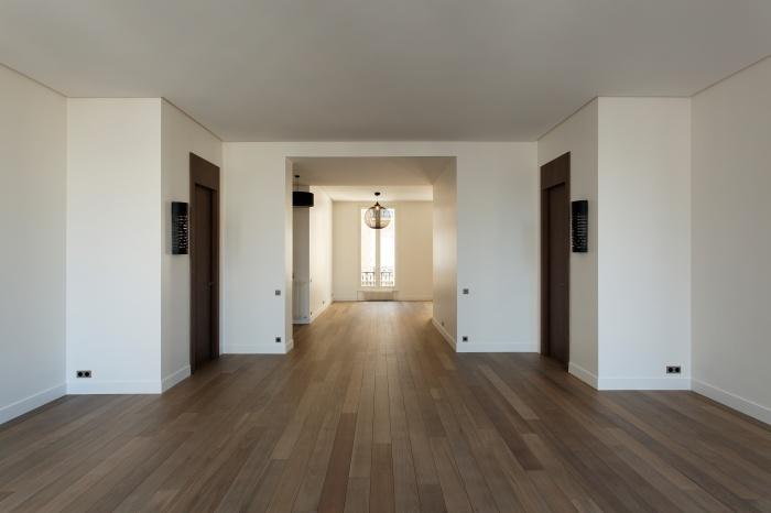 Appartement Paris VIIe : séjour traversant