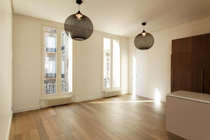 Appartement Paris VIIe : salle à manger