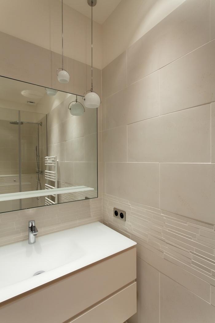 Appartement Paris VIIe : Salle d'eau 1