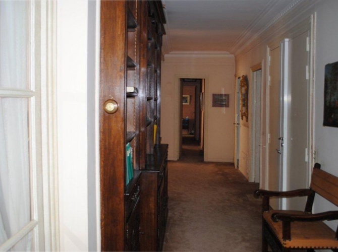 Réaménagement d'un appartement parisien : avant travaux
