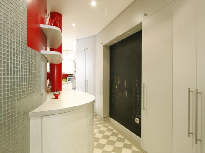 Réaménagement d'un appartement parisien