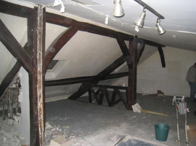 Aménagement d'un appartement près du panthéon : Avant travaux