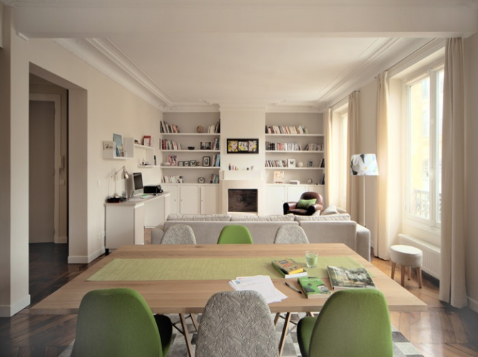 Aménagement et décoration d'un appartement.