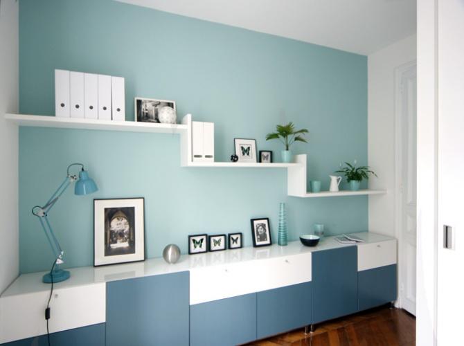 Aménagement et décoration d'un appartement. : Après travaux 8
