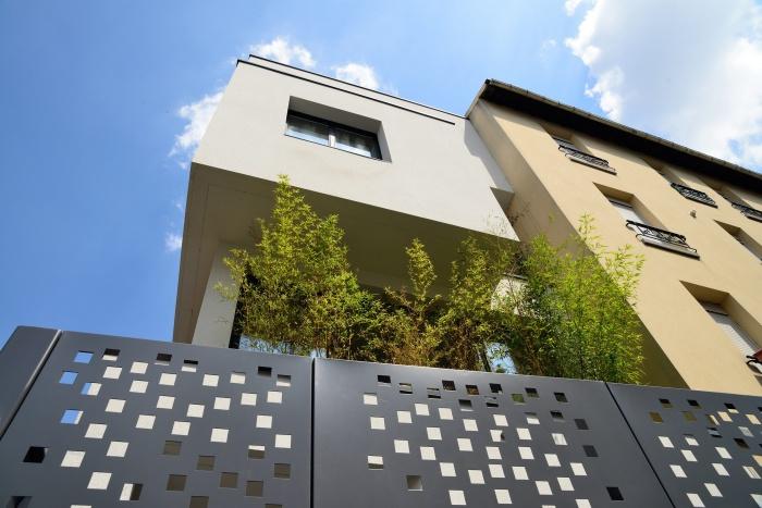 Maison Cubique : acces