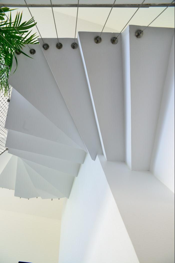 Maison Cubique : escalier
