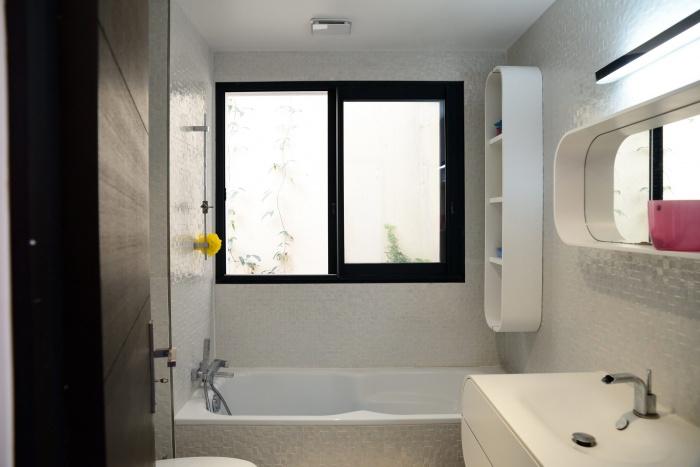 Maison Cubique : Salle de bain