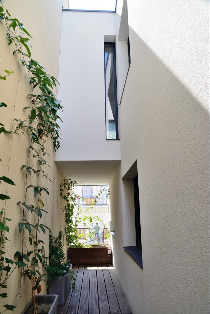 Maison Cubique : terrasse