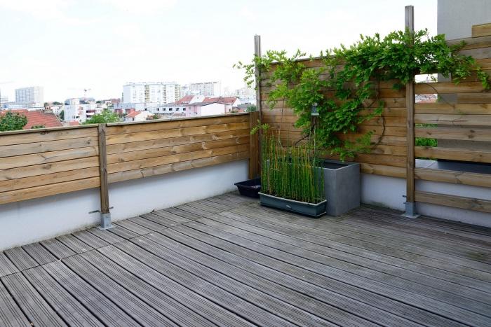 Maison Cubique : terrasse 3