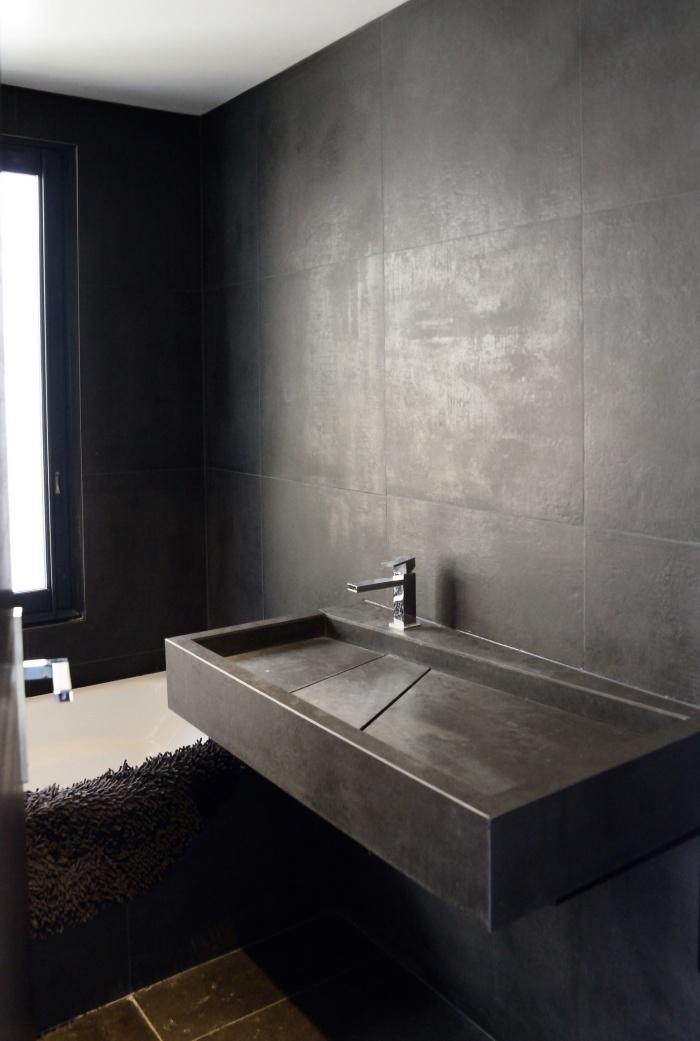 Maison Cubique : Salle de bain3