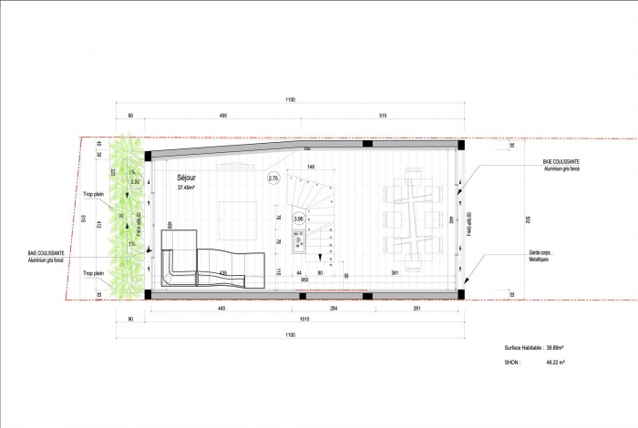 Maison Cubique : R+1