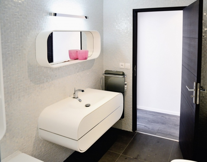 Maison Cubique : Salle de bain2