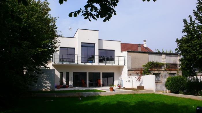 Architectes maison cubique villejuif for Acheter maison paris
