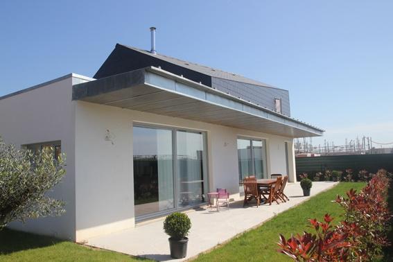 Architectes construction d 39 une maison for Extension maison ossature metallique