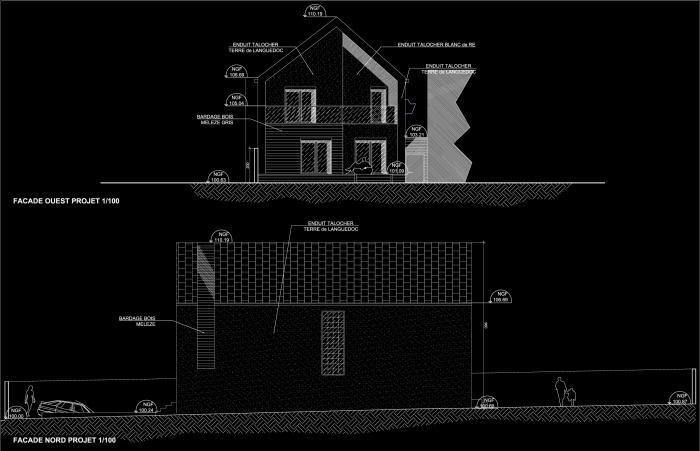 Projet MU : PrjMU-Facade Ouest&Nord