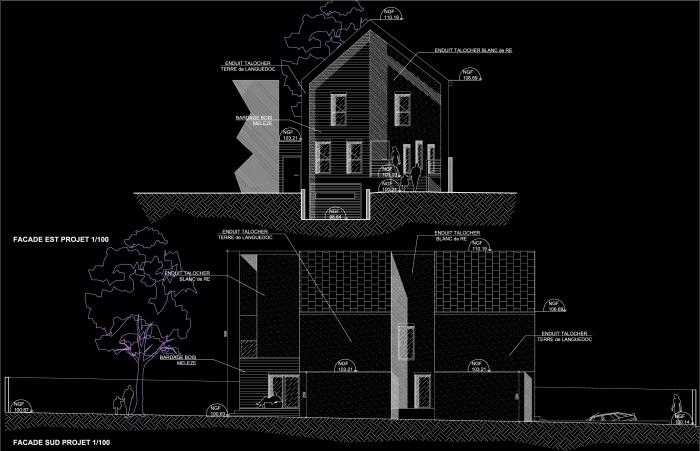Projet MU : PrjMU-Facade Sud&Est