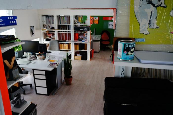 Réhabilitation lourde: LAWOMATIC, espace de Coworking