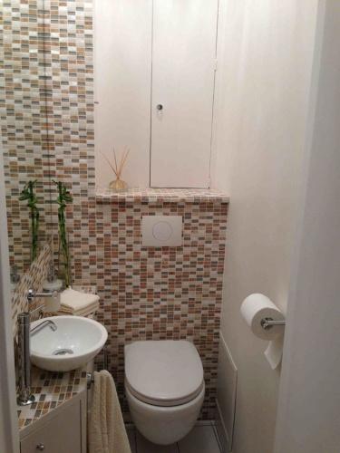 Rénovation et aménagement d'un appartement Wagram : Wc après