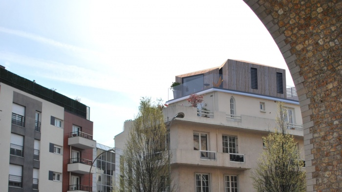 Extension Par Surelevation D Un Immeuble A Issy Les Moulineaux A