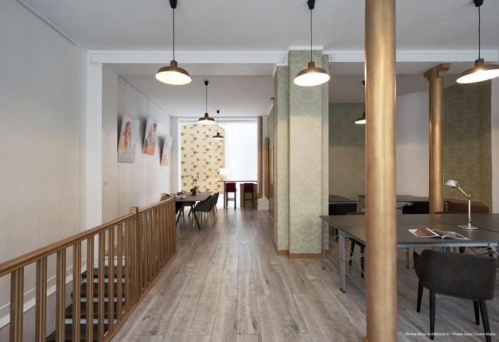 Création d'un espace de coworking et showroom