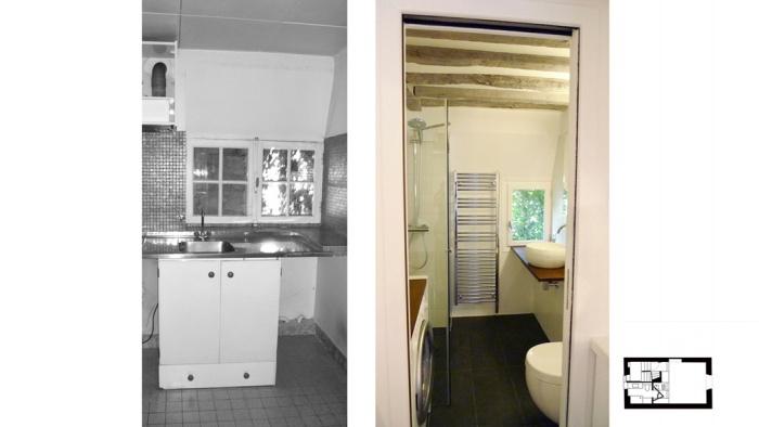 Appartement à Paris 4 : SEV04