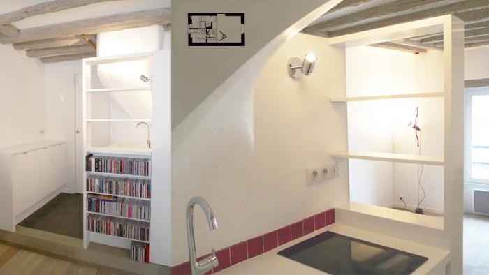 Appartement à Paris 4 : SEV05