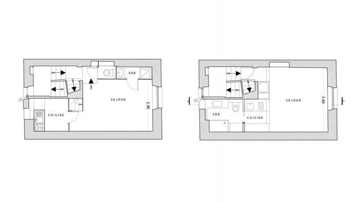 Appartement à Paris 4 : SEV15
