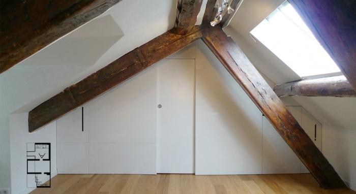 Appartement à Paris 4 : SEV03